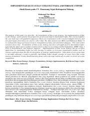 Jurnal Muhamad Nur Ilham Fia Ub Implementasi Blue Ocean Strategy