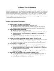 Wellness Plan Assignment Detailed Instructions OL.docx