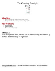 discrete math and probability