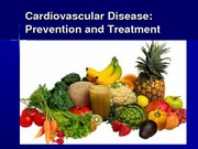 CVD Treatment Guidelines and MNT