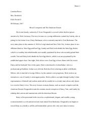 The Great Gatsby Literary Analysis.docx