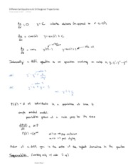 Differential Equations & Orthogo (as PDF)