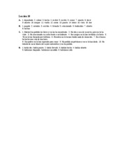 Â¡Hola, amigos! Workbook Answer Key Lec.10 A-D