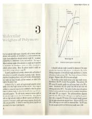 Molecular weight Measurement