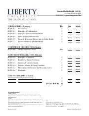 degrre compleation plan.pdf - Master of Public Health(M.P ...