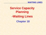 7) Waiting Lines