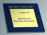 Self Check Chapter 18