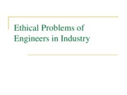 Ethical Problems of Engineers in Industry and