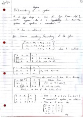 Consistencies of a System Lecture Notes 5