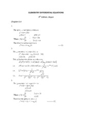 ELEMENTRY DIFFERENTIAL EQUATIONS 6.4