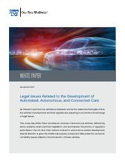 Legal Issues Related to Autonomous Cars (1).pdf