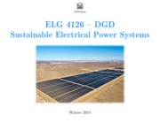 Lecture1 Distributed Generation extra for Sustainable Power system