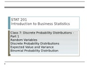 07_Discrete Probability Distributions Part 1