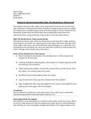 Study Guide G&H Chapter 3