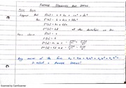 Further Sequences and Series Class Notes 14