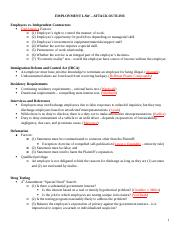 249314549-Employment-Law-Attack-Outline-Short.docx