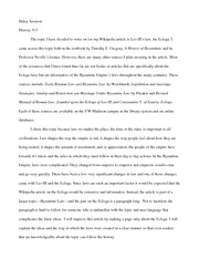 History 313- Wiki paper proposal