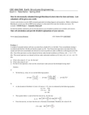 EXAM 1 ANSWERS AND QUESTIONS