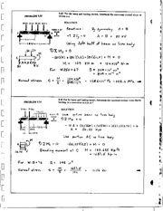 508_Mechanics Homework Mechanics of Materials Solution
