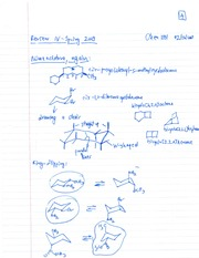 Organic Chem Nomeclature of Cycloalkanes Review