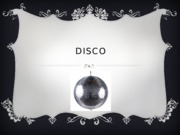 Disco - Dance 100 Project