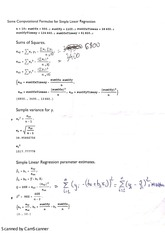 stat regformulae example stat business and econ 2