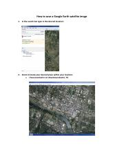 How to save a Google Earth .pdf