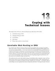 Ch13-Copying with Technical Issues