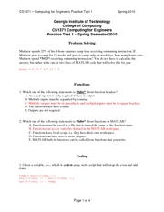CS1371_PracticeTest1_Solutions