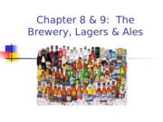 RHT 4400 Ch 8 & 9 The Brewery, Lagers & Ales(3)