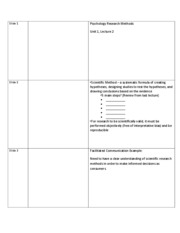 Unit 1-02-Research Methods Student Notes