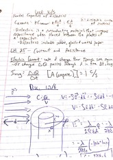 Capacitor Currents Notes