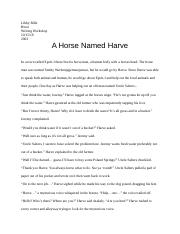 A Horse Named Harve