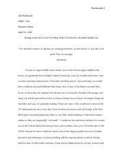 Research Paper WRIT 1301