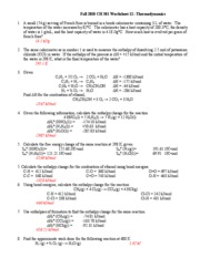 worksheet 12 key