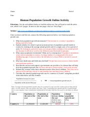 Human Population Growth Rate Activity.docx