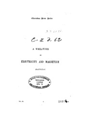 A treatise on electricity and magnetism, Vol II, J C Maxwell