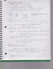 Section 1.2 Notes on Mathmatical Models