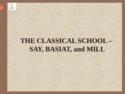 THE CLASSICAL SCHOOL –(2)