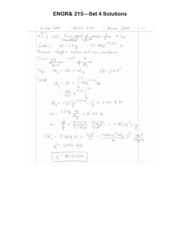 ENGR 215 Set 4 Solutions