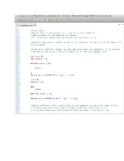 Java Programming (Assignment 3 - Loops)
