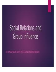 Group Influence and Social Relations (AP Psychology).pptx