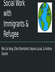 Social Work- Immigration