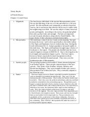 Chapter 2 Cornell Notes (AP World)