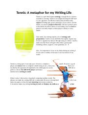 Tennis Paper that is really cool and is english.docx