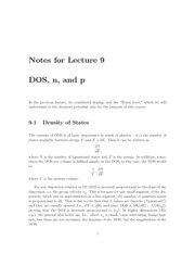 Lecture09-DOS-n-p