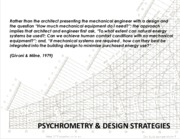 Lecture8 and 9 psychrometry and design strategies for Building system