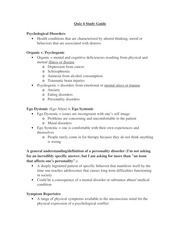 Quiz 4 Study Guide