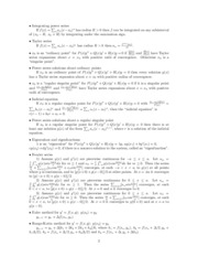 M 427K - Definitions and Theorems 2
