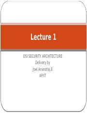 OSI SECURITY ARCHITECTURE.pptx